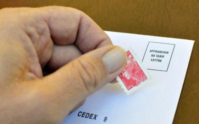 Principaux tarifs postaux au 1er janvier 2021